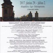 Bükki Művészeti Napok – Barokk Fesztivál
